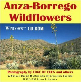 Anza-Borrego Wildflowers CD-ROM