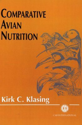 Comparative Avian Nutrition