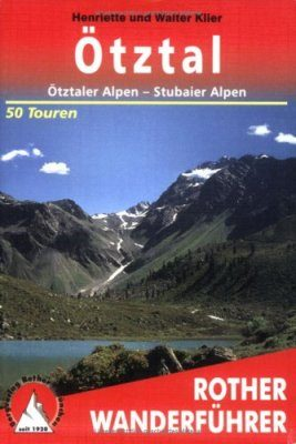 Bergverlag Rother Hiking Guides, RO 4094-7: Otztal in Austria [German]