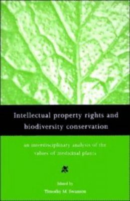 Intellectual Property Rights and Biodiversity Conservation