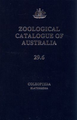 Zoological Catalogue of Australia, Volume 29.6