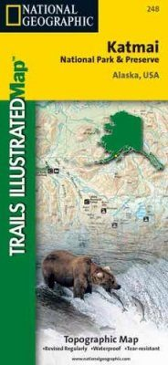Alaska: Map for Katmai National Park and Preserve