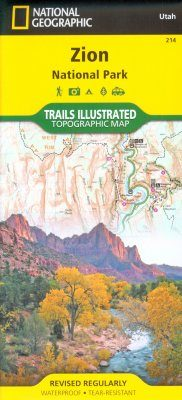 Utah: Map for Zion National Park