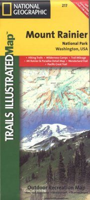 Washington State: Map for Mount Rainier National Park