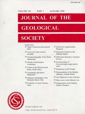 Journal of the Geological Society, Volume 155, Part 1, January 1998