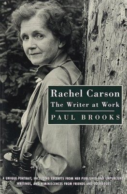 Rachel Carson: The Writer at Work