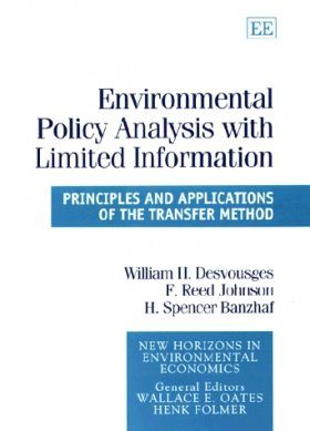 Environmental Policy Analysis with Limited Information