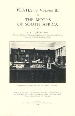 The Moths of South Africa, Volume 3 (1940): Plates