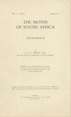 The Moths of South Africa, Volume 5, Part 1 (1949): Gelechiadae (2-Volume Set)