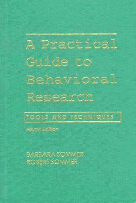 A Practical Guide to Behavioral Research