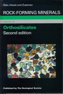 Rock-Forming Minerals, Volume 1A: Orthosilicates