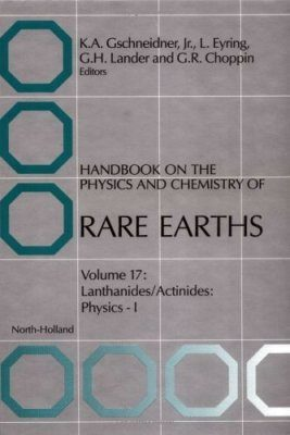 Handbook on the Physics and Chemistry of Rare Earths, Volume 17