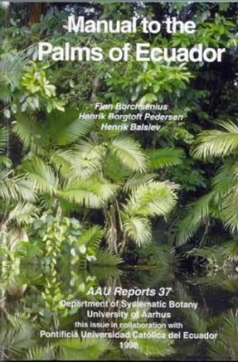 Manual to the Palms of Ecuador