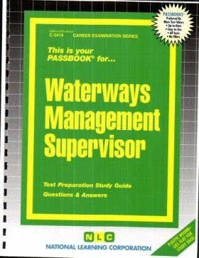 Waterways Management Supervisor: Passbook
