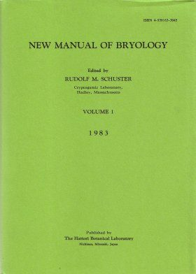 New Manual of Bryology, Volume 1