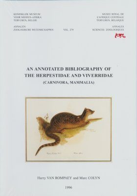 An Annotated Bibliography of the Herpestidae and Viverridae (Carnivora, Mammalia)