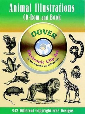 Animal Illustrations CD-ROM and Book