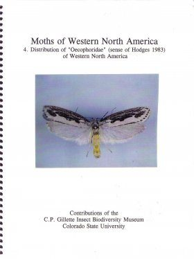 "Moths of Western North America, Volume 4: Distribution of ""Oecophoridae"" (sense of Hodges 1983) of Western North America"