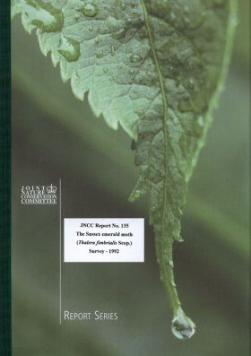The Sussex Emerald Moth (Thalers fimbrialis Scop.) Survey 1992