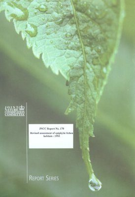 Revised Assessment of Epiphytic Lichen Habitats - 1993