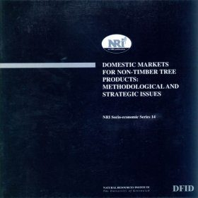 Domestic Markets for Non-Timber Tree Products: Methodological and Strategic Issues