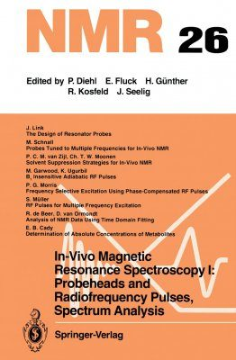 In-Vivo Magnetic Resonance Spectroscopy I: Probeheads and Radiofrequency Pulses, Spectrum Analysis
