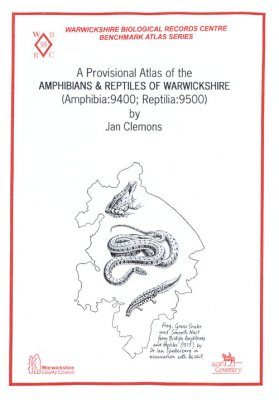 A Provisional Atlas of the Amphibians and Reptiles of Warwickshire