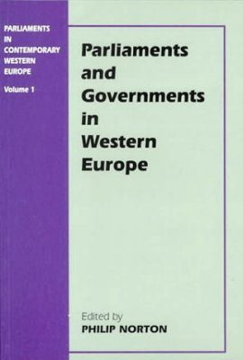 Parliament and Government in Western Europe