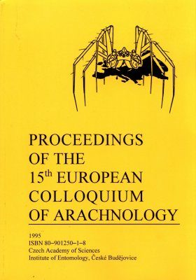 Proceedings of the 15th European Colloquium of Arachnology