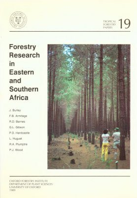 Forestry Research in Eastern and Southern Africa