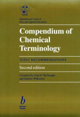 Compendium of Chemical Terminology