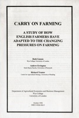 Carry on Farming