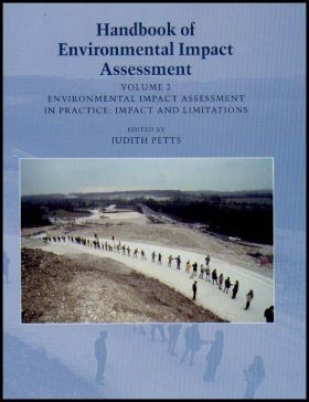 Handbook of Environmental Impact Assessment, Volume 2