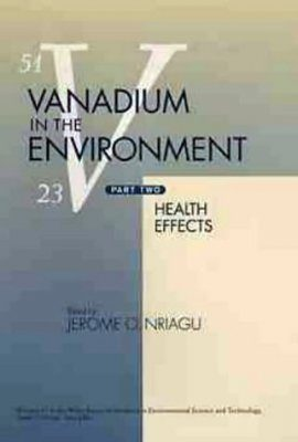 Vanadium in the Environment: Part 2