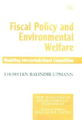 Fiscal Policy and Environmental Welfare