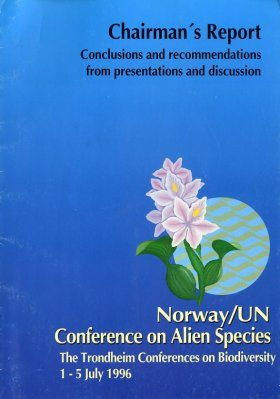 Norway/UN Conference on Alien Species: Chairman's Report
