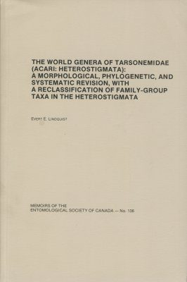 The World Genera of Tarsonemidae (Acari: Haterostigmata)