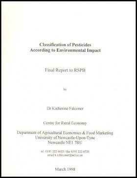 Classification of Pesticides According to Environmental Impact