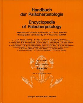 Encyclopedia of Paleoherpetology, Part 4: Salientia