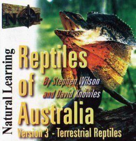 Reptiles of Australia CD-ROM, Version 3: Terrestrial Reptiles