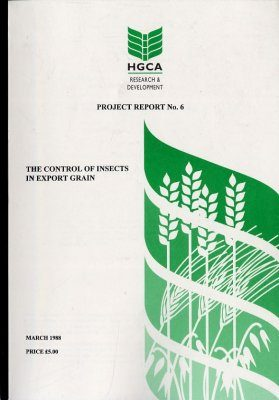 The Control of Insects in Export Grain