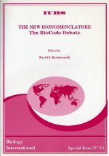The New Bionomenclature: The BioCode Debate