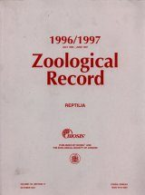 Zoological Record, Volume 133 - Section 17: Reptilia