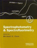 Spectrophotometry and Spectrofluorimetry