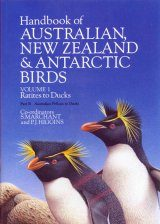 Handbook of Australian, New Zealand and Antarctic Birds: Volume 1