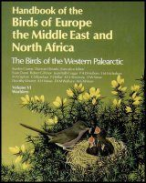 The Birds of the Western Palearctic, Volume 6