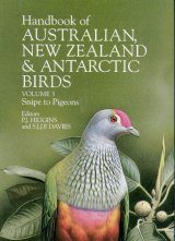 Handbook of Australian, New Zealand and Antarctic Birds: Volume 3