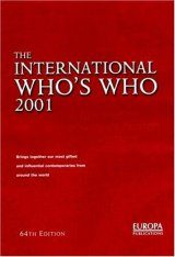The International Who's Who 2001