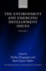 The Environment and Emerging Development Issues, Volume 1