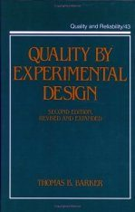 Quality by Experimental Design